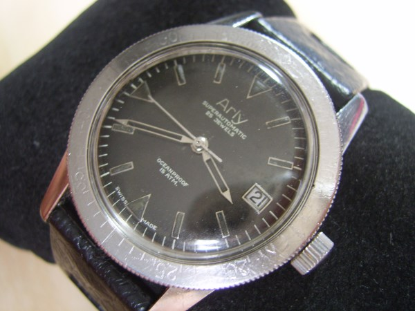 Maximaze Watches Vintage 60 S Ss Arly Superautomatic Oceanproof 15 Atm