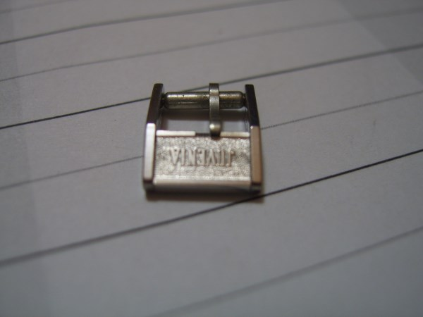 VINTAGE NOS 8MM JUVENIA STAINLESS STEEL LADIES BUCKLE