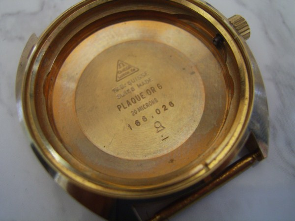 OMEGA : AUTHENTIC NOS OMEGA COSMIC CASE GP 20M REF : 166.026 FOR CAL 565