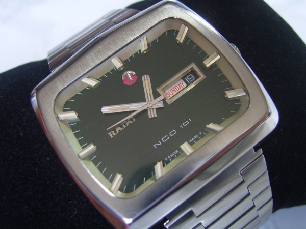 RADO NCC : JUMBO SIZE 42MM  RADO NCC 101 AUTOMATIC DAY DATE - ORIGINAL CONDITION