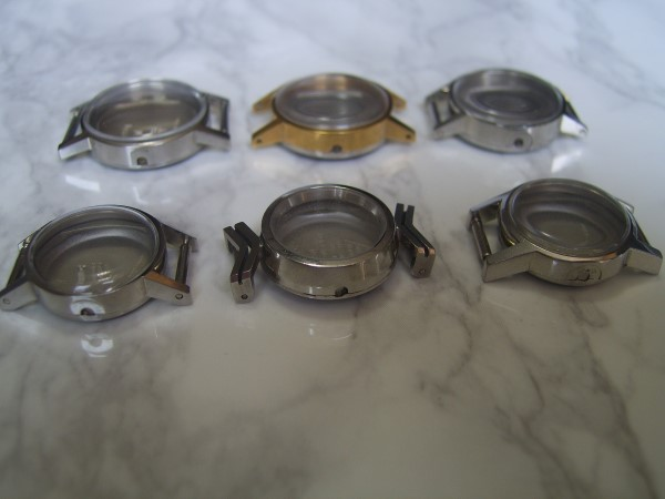 OMEGA : LOT X 6 OMEGA LADIES (CASE & CRYSTAL) FOR CAL 485