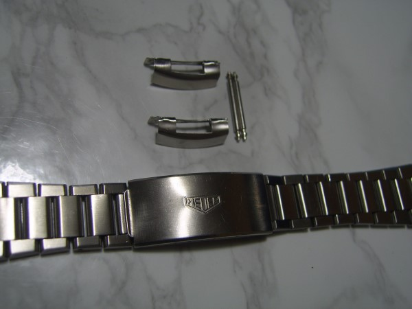 EXTREMELY RARE HEUER AUTAVIA STAINLESS STEEL BRACELET