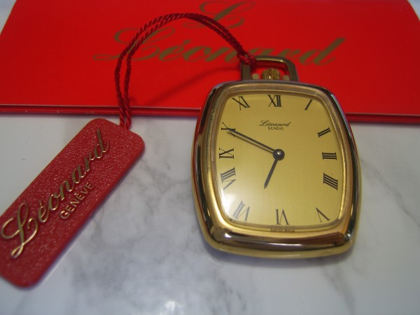 LEONARD : VINTAGE NOS 1970'S SWISS LEONARD MANUAL POCKET WATCH