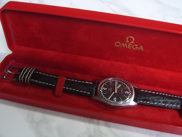 OMEGA RACING GRAND SPORT : MANUAL CAL 601 MEN'S WATCH - EXTREMELY RARE