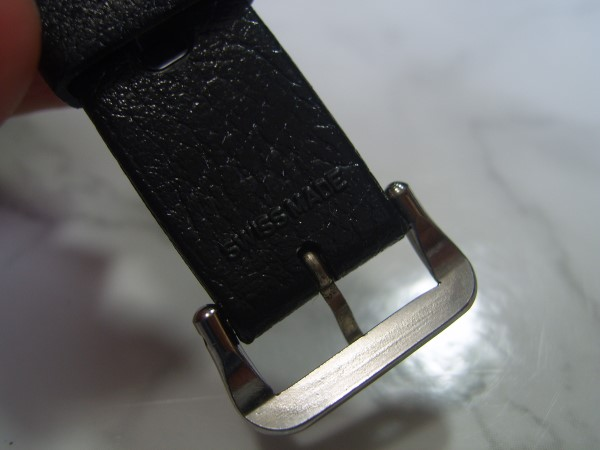 TROPIC : 18MM 1960'S TROPIC BIG HOLES SWISS BLACK DIVE STRAP
