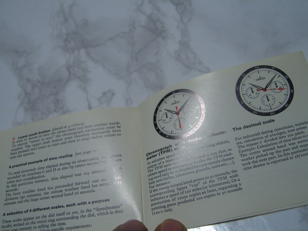 OMEGA 1966 YOU AND YOUR OMEGA BOOKLET IN EXCELLENT CONDITION