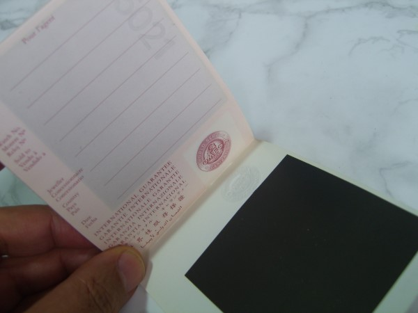 OMEGA 1988 INTERNATIONAL GUARANTEE WARRANTY BOOKLET, NEW, UNUSED, BLANK