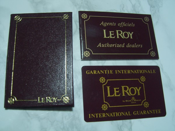 LE ROY INTERNATION...