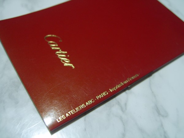 PANTHERE DE  CARTIER INTERNATIONAL GUARANTEE WARRANTY BOOKLET, NEW, UNUSED, BLAN