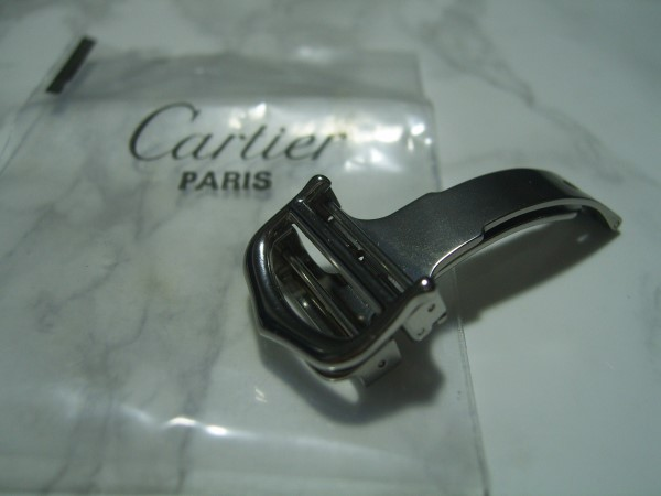 CARTIER : 18MM STAINLESS STEEL DEPLOYMENT BUCKLE - NEW UNUSED