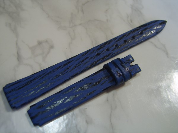 VAN CLEEF & ARPELS LA COLLECTION 11-7.5 MM / N 22 LADIES BLUE SHARK STRAP