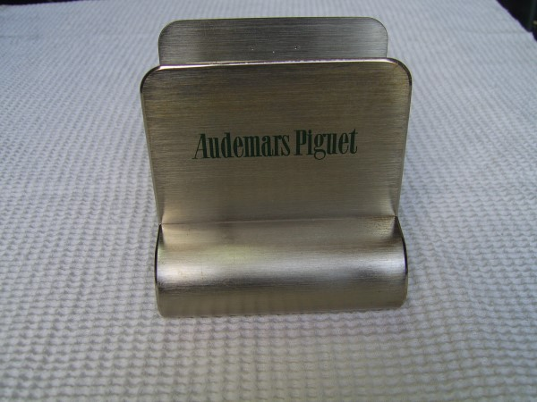 Audemars Piguet : Catalog / Magazine / Brochure Holder Display - RARE