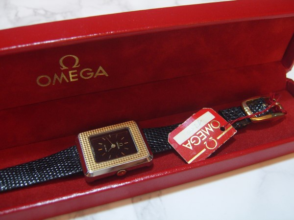 OMEGA DE VILLE : 18K / SS MANUAL CAL 625 LADIES WRISTWATCH - NEW IN BOX