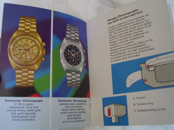 OMEGA SPEEDMASTER : SEAMASTER DEVILLE 1970'S INSTRUCTION + GUARANTEE