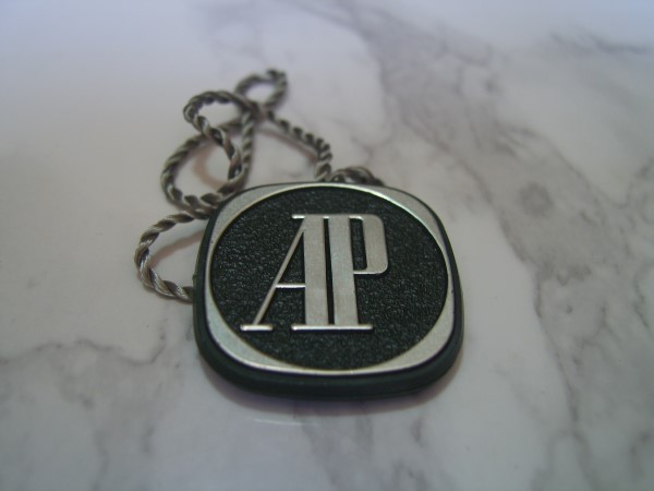 AUDEMARS PIGUET : Authentic vintage Audemars Piguet watch Hang Tag