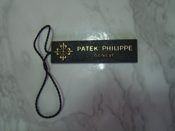 PATEK PHILIPPE : Open Blank Authentic Patek Philippe watch Hang Tag
