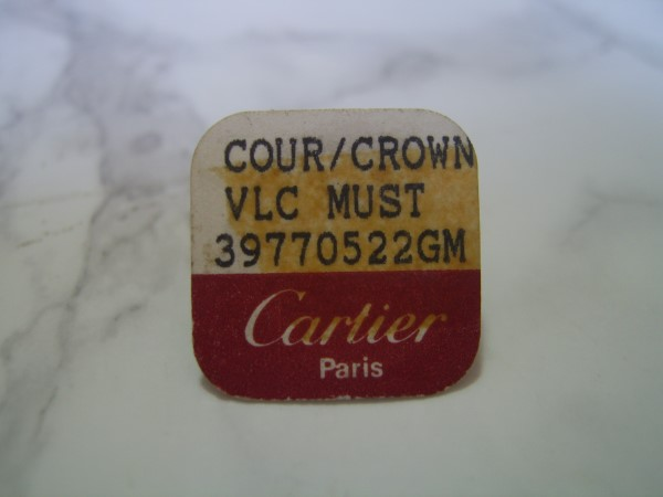Cartier : Crown VL...