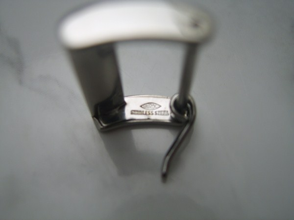 VINTAGE 50'S MOVADO 16MM STAINLESS STEEL BUCKLE - USED