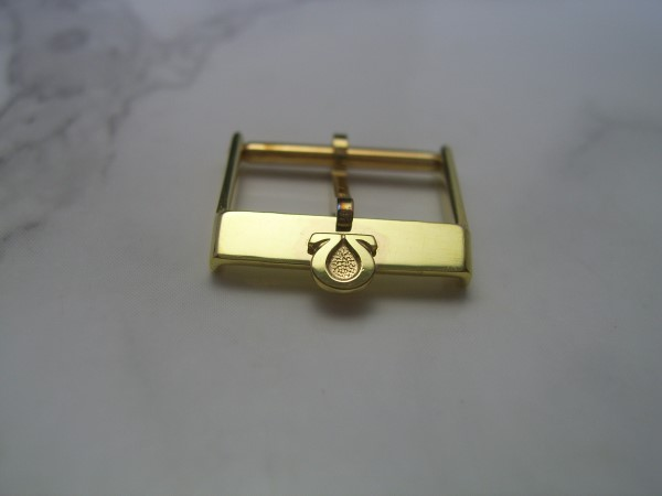 OMEGA : 16MM VINTAGE NOS GOLD PLATED BUCKLE