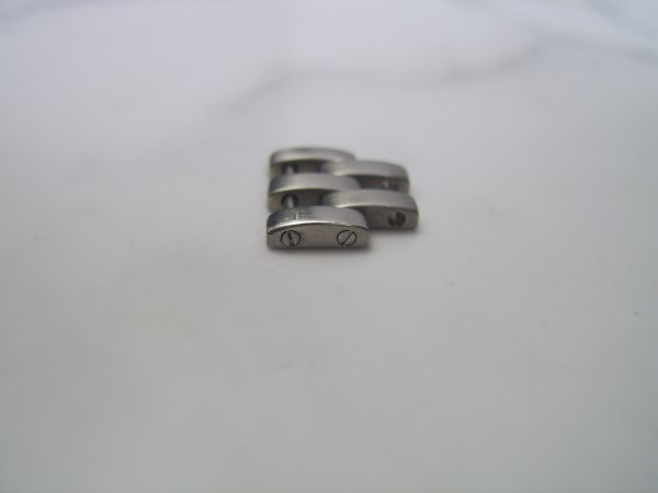 AUTHENTIC CARTIER PANTHERE LADIES 12MM STAINLESS STEEL LINK