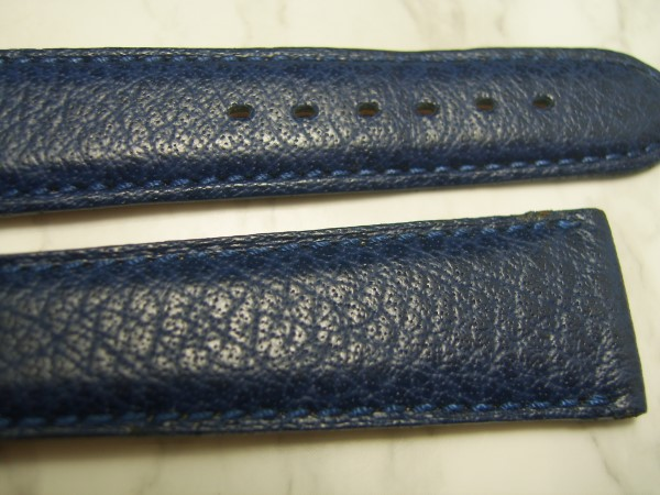 VACHERON CONSTANTIN : 20MM BLUE BUFFALO LEATHER BAND STRAP