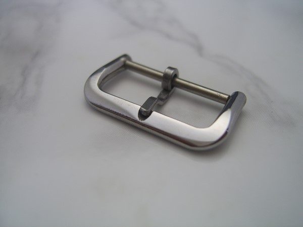 RARE 1950'S 18MM STAINLESS STEEL BUCKLE