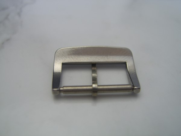RARE 1970'S 16MM STAINLESS STEEL BUCKLE