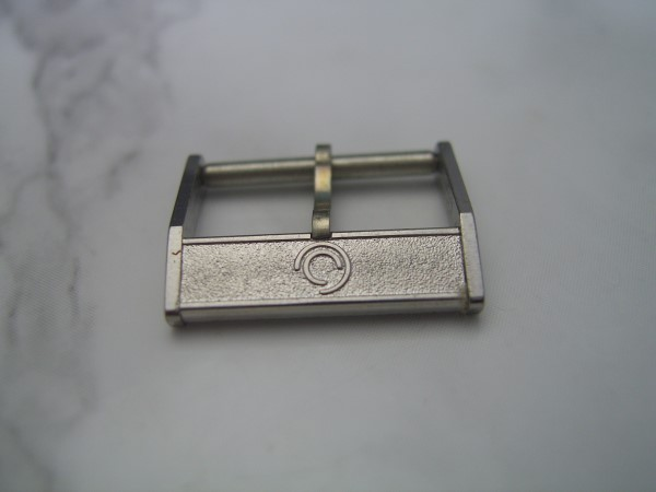 CERTINA : 17 MM 1960'S STAINLESS STEEL BUCKLE