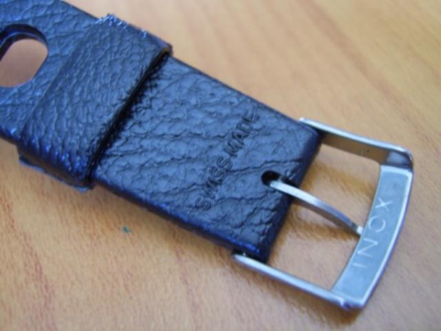TROPIC : 20MM BLACK SWISS TROPIC BIG HOLES DIVE BAND STRAP