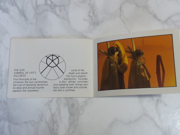 OMEGA : 1975 BROCHURE / BOOKLET FOR OMEGA SYMBOL