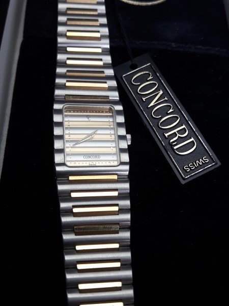 Concord Centurion 18K / Stainless steel Ladies Watch Box Paper - NEW IN BOX