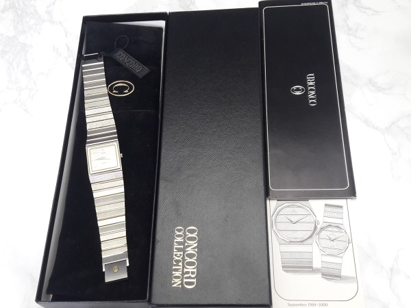 CONCORD MARINER SG : 18K / Stainless steel Men's Watch Box Paper - NEW IN BOX