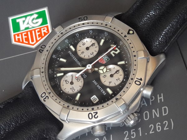TAG HEUER NOS CK11...