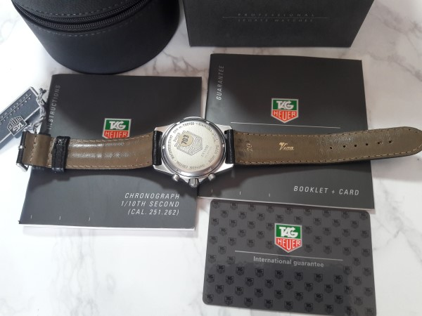 TAG HEUER NOS CK11140 SERIES 2000 PROFESSIONAL 200M CRONOGRAPH MEN'S WATCH - BOX PAPERS