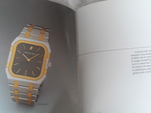 AUDEMARS PIGUET ROYAL OAK 1980'S CATALOG / BROCHURE -  VERY RARE