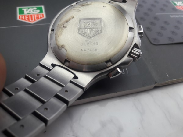 NOS TAG HEUER KIRIUM CL2110 PROFESSIONAL 200M CRONOGRAPH MEN'S WATCH - BOX PAPERS
