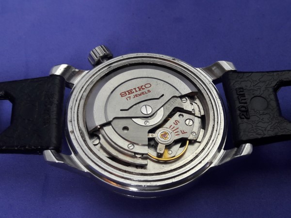 EXTREMELY RARE 1960'S SEIKO WORLD TIME 6217-7000 GMT AUTOMATIC DATE FIRST MODEL