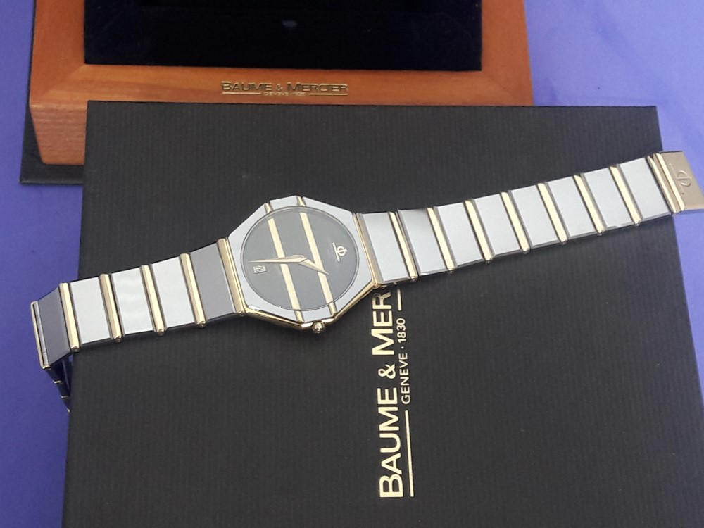 Baume & Mercier Avant-Garde 18kt And Tungsten 5138.038 - Pre-Owned Mens Watches
