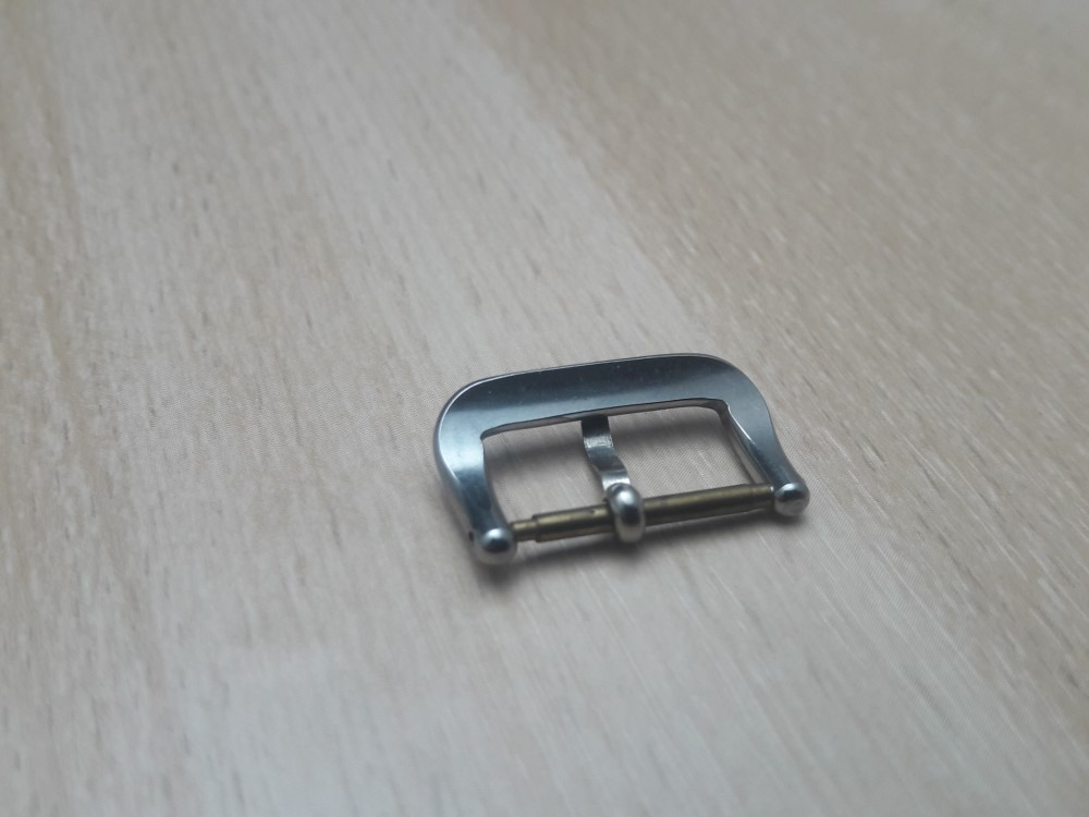 VINTAGE NOS 1950-60'S 16MM STAINLESS STEEL CERTINA BUCKLE