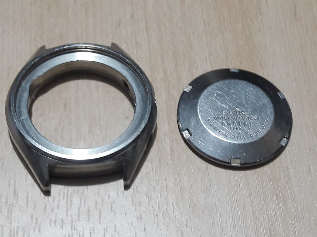 SEIKO CHRONOGRAPH 6138-8020 PANDA CASE AS IS FOR PARTS