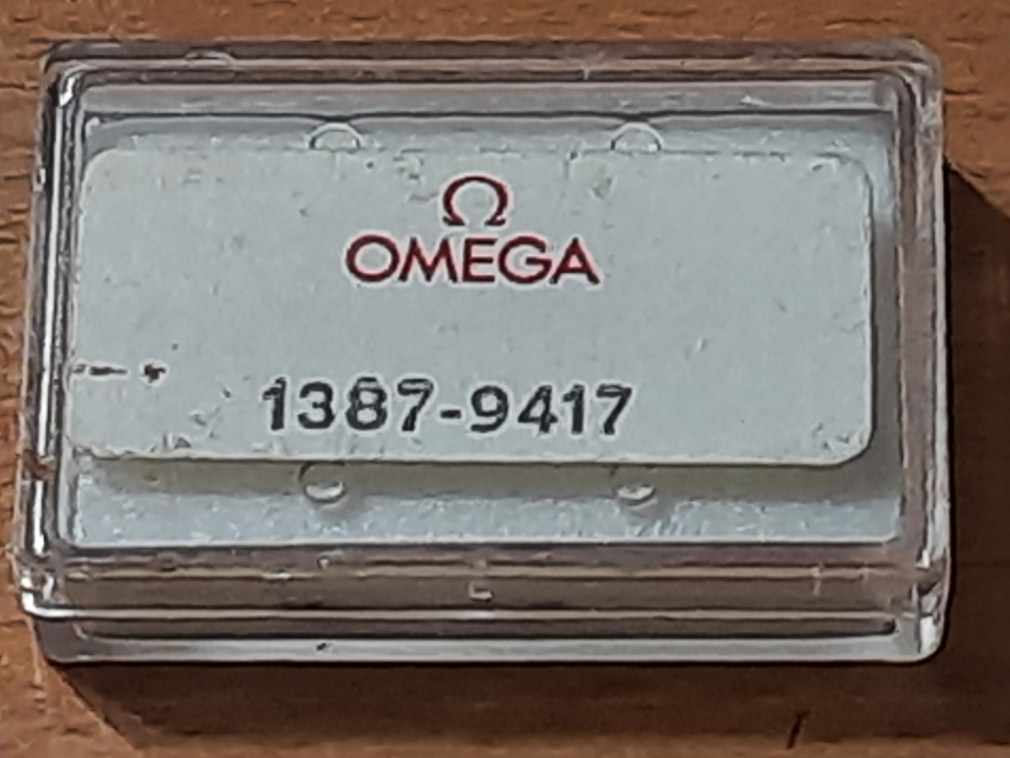NOS Omega quartz cal 1387 watch coil part number # 9417