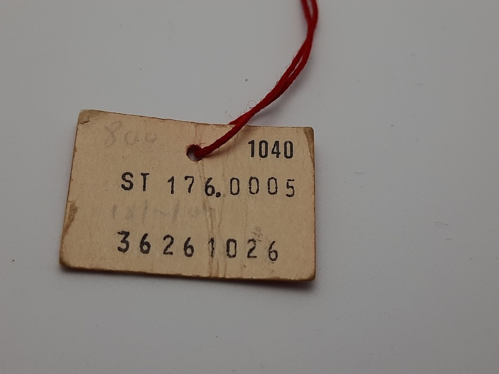 Extremely rare 1970's OMEGA Hang Tag for Seamater Chronograph