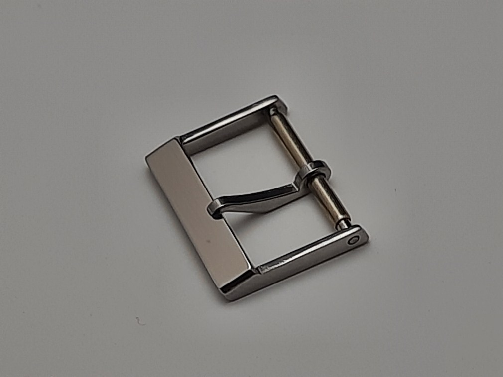 RARE 1960-70'S 16MM SWISS MADE STAINLESS STEEL BUCKLE