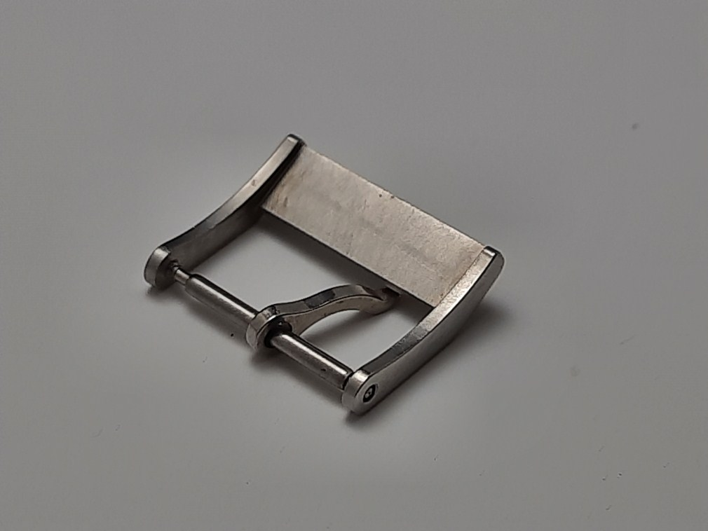 VINTAGE NOS 1960-70'S ZODIAC 15MM STAINLESS STEEL WATCH BUCKLE
