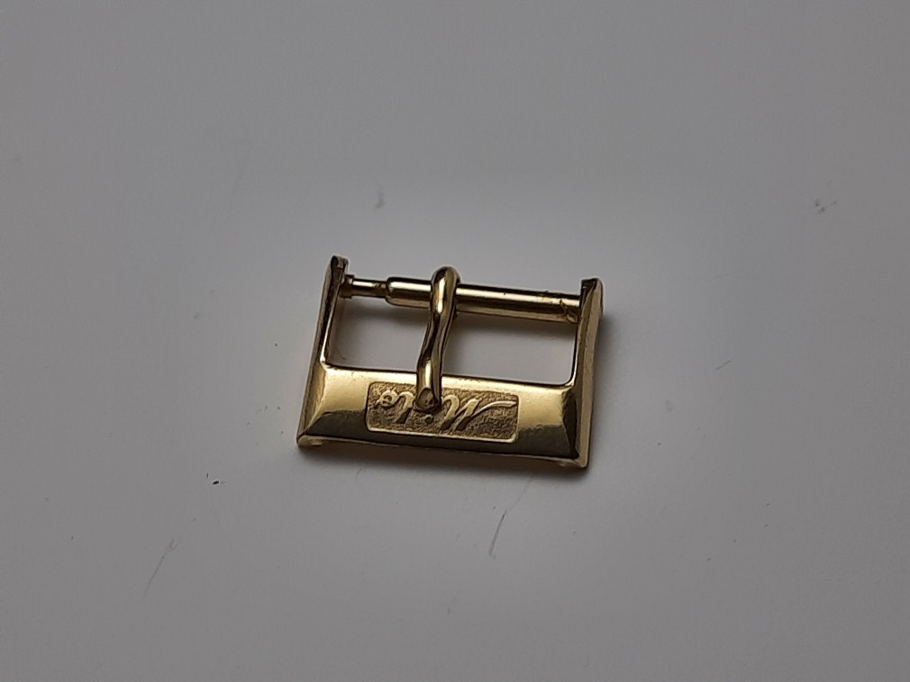 VINTAGE NOS 1960-70'S MIDO 14MM YELLOW GOLD PLATED WATCH BUCKLE
