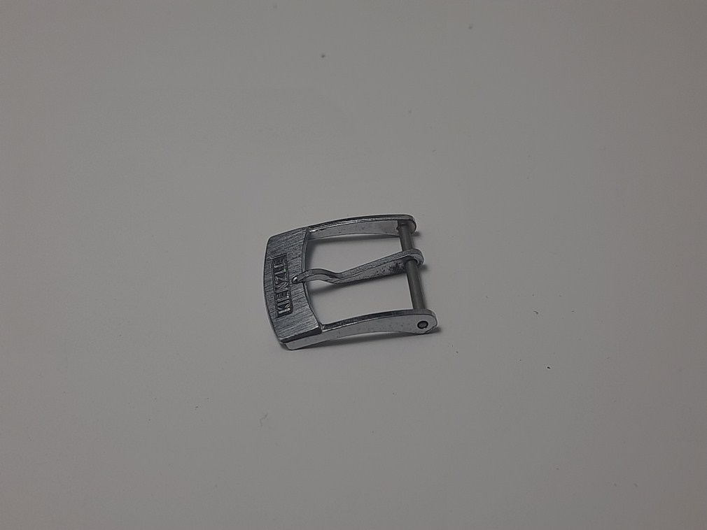 VINTAGE KIENZLE 15MM CHROME PLATED WATCH BUCKLE