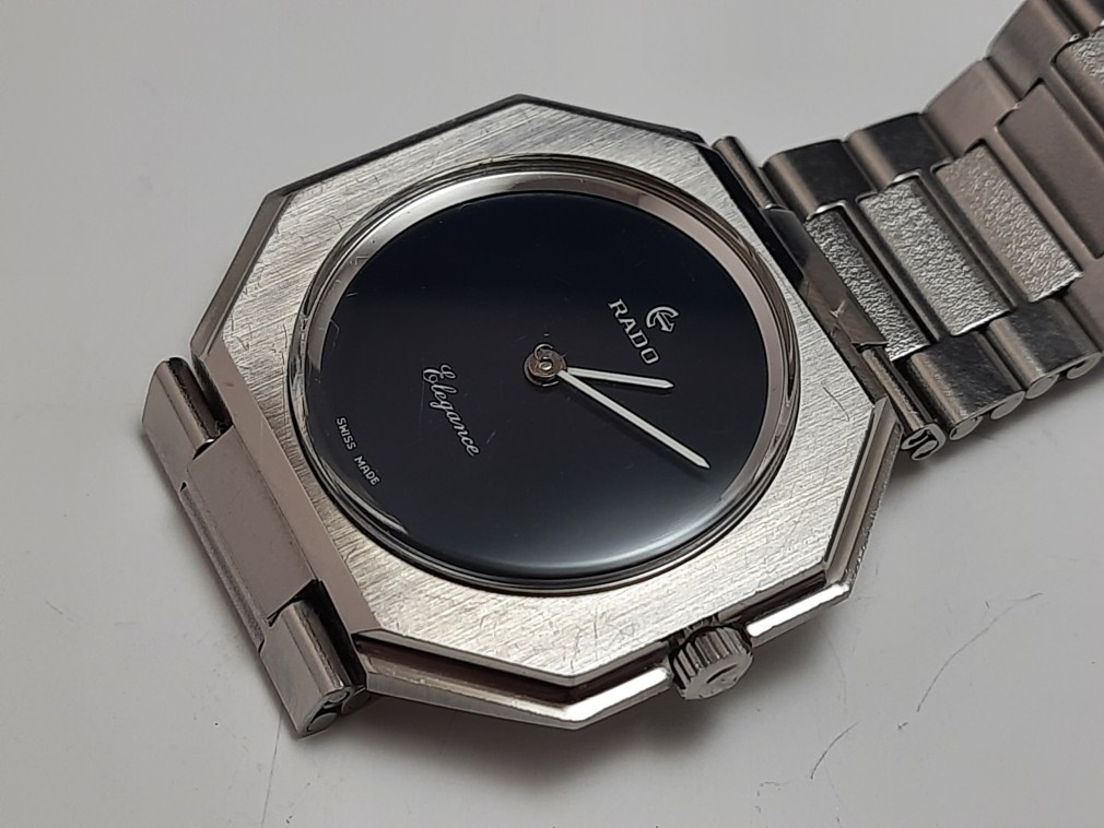 1970'S RADO ELEGANCE MANUAL NSA BRACELET - NEAR MINT CONDITION