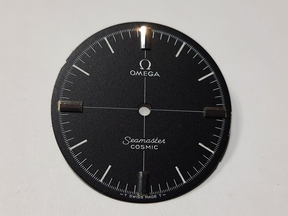 OMEGA SEAMASTER COSMIC 135.017 DIAL MANUAL CAL 601 30.5MM - NOS CONDITION