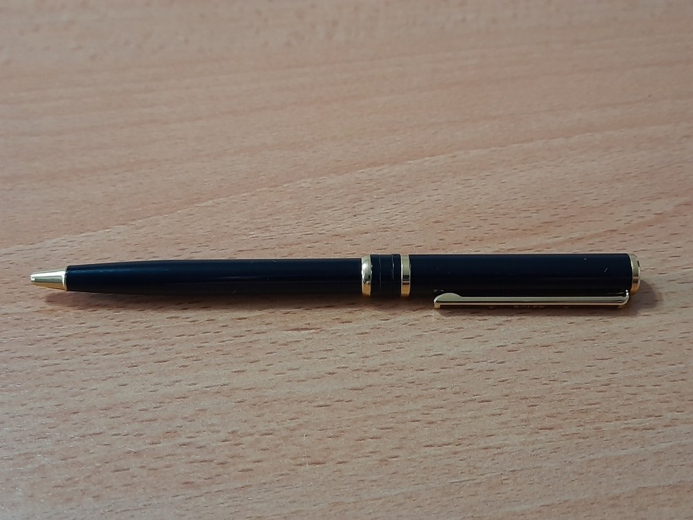 VINTAGE ROLEX BLACK LACQUER BALL POINT PEN - PRE OWNED