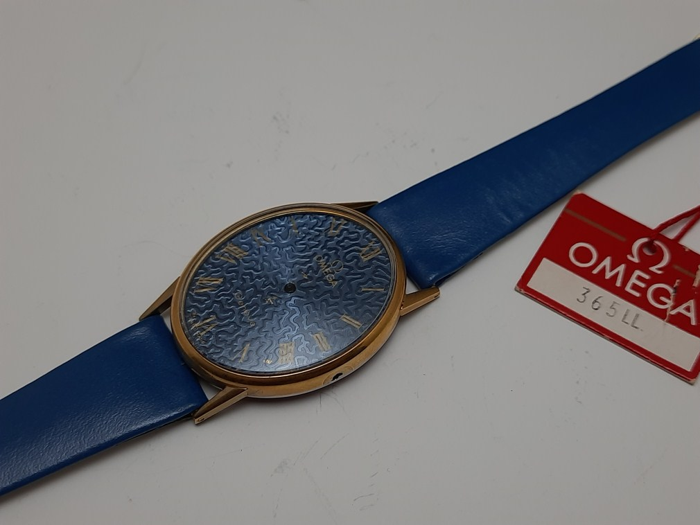 NOS OMEGA GENEVE LADIES CASE CRYSTAL DIAL STRAP & BUCKLE CAL 625 / 620